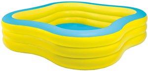 Intex Family Pool blau-gelb