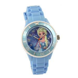 Kinderarmbanduhr Frozen (Eiskönigin, wasserabweisend, hellblau)
