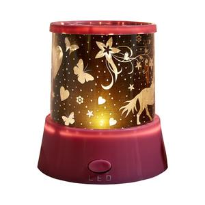 LED-Leuchte Sternenhimmel (batteriebetrieben, pink)