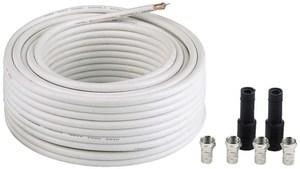 Hama SAT-Anschluss-Kit 100 dB 20 m