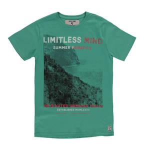 GARCIA        T-Shirt, Front-Print, Baumwolle, für Jungen