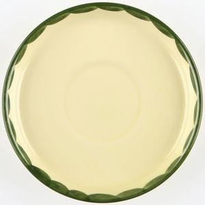 Zeller Keramik Untertasse Hahn und Henne, 15 cm