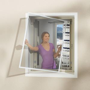 Insektenschutz-Fenster (130x150, weiß)