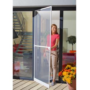 Insektenschutz-Tür (100x210, weiß)