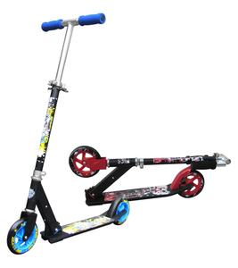 Alu Scooter 145x30mm PU Rollen