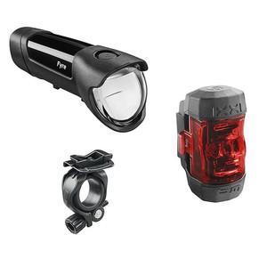 Fahrrad-Beleuchtungsset IXON Fyre LED 30 Lux + IXXI