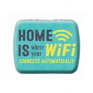 Minz-Pastillen ´´Home is where your Wifi´´