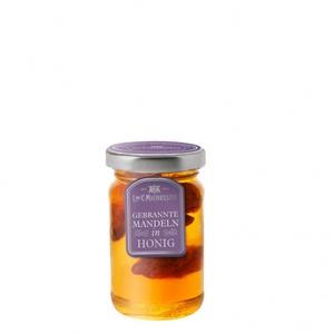 Honig mit gebrannten Karamell Mandeln
