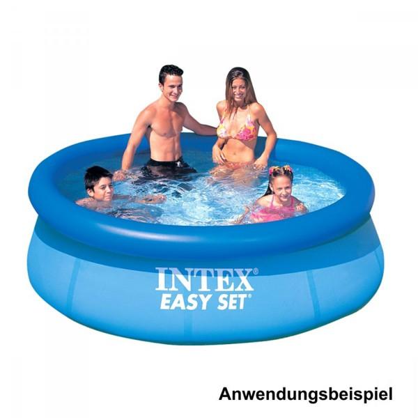 Intex Easy Set Swimming Pool 244x76cm Schwimmbecken Schwimmbad Planschbecken