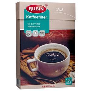 RUBIN Kaffeefilter Gr. 4