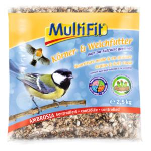 MultiFit Körner- und Weichfutter
