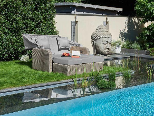 Greemotion Lounge Sofa Orlando XXL Mit Dach Von Lidl