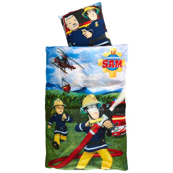 Kinderbettwäsche Feuerwehrmann Sam 100x135 Von Dänisches