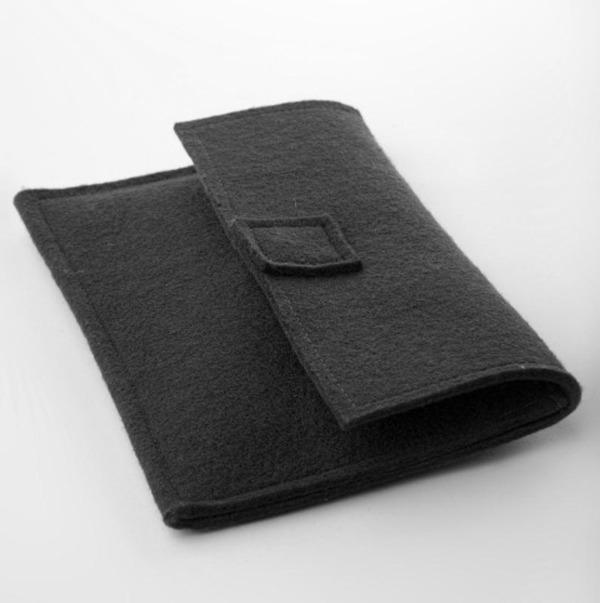 ebuchfilz Tasche für Tolino Shine, Vision 2 - Schwarz