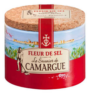 Saunier du Carmagne             Camargue Meersalz Fleur de Sel 125 g