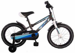Fahrrad 16 Zoll - Blade - schwarz-weiß-blau