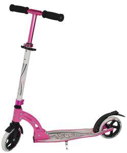 Alu Scooter - weiß/pink - mit Klappmechanismus