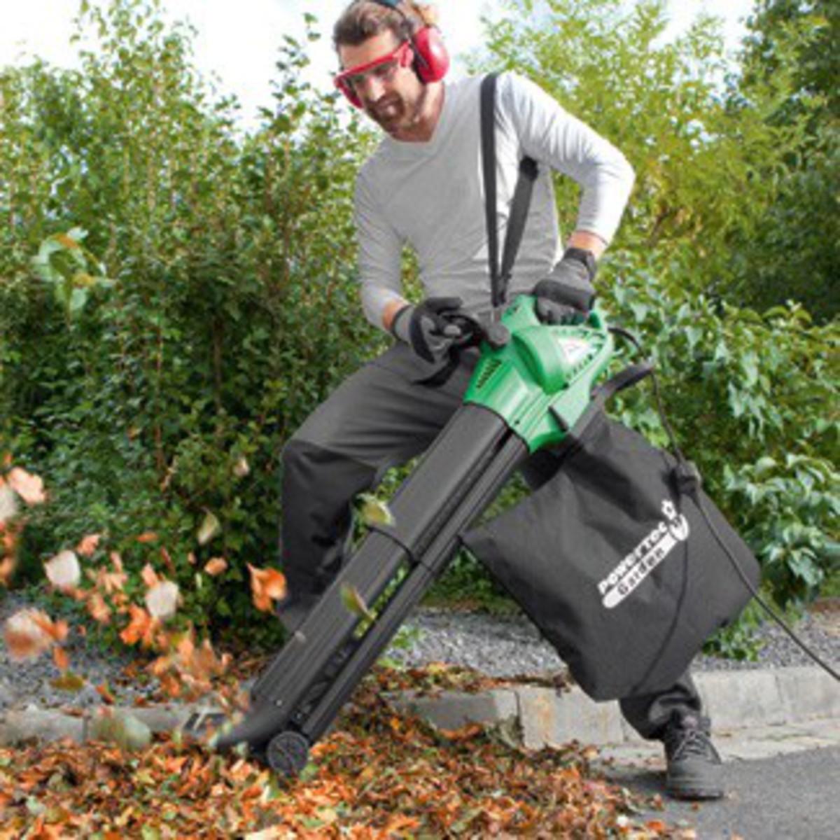 Bild 1 von Powertec Garden Laubsauger, 3000 Watt