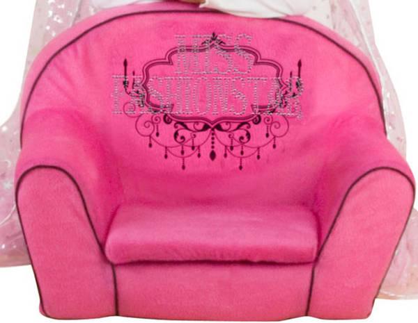 Besttoy Sessel Pink Mit Glitzer Miss Fashion Star Von Rofu Ansehen