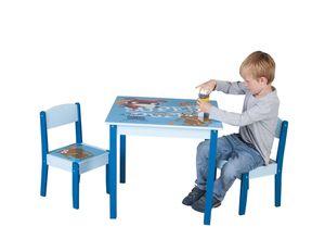 Besttoy - Holz Kinder-Sitzgruppe - Super Puppy - Tisch ca. 60 x 53 x 60 cm, Stühle ca. 29 x 29 x 50 cm