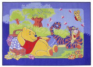 Kinderteppich Winnie Pooh - Winnie und Tigger - ca. 95x133 cm