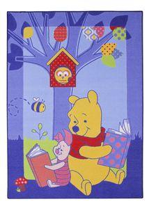 Kinderteppich Winnie Pooh - Winnie und Ferkel - ca. 95x133 cm