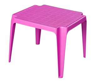 Kindertisch - Tavolo - pink