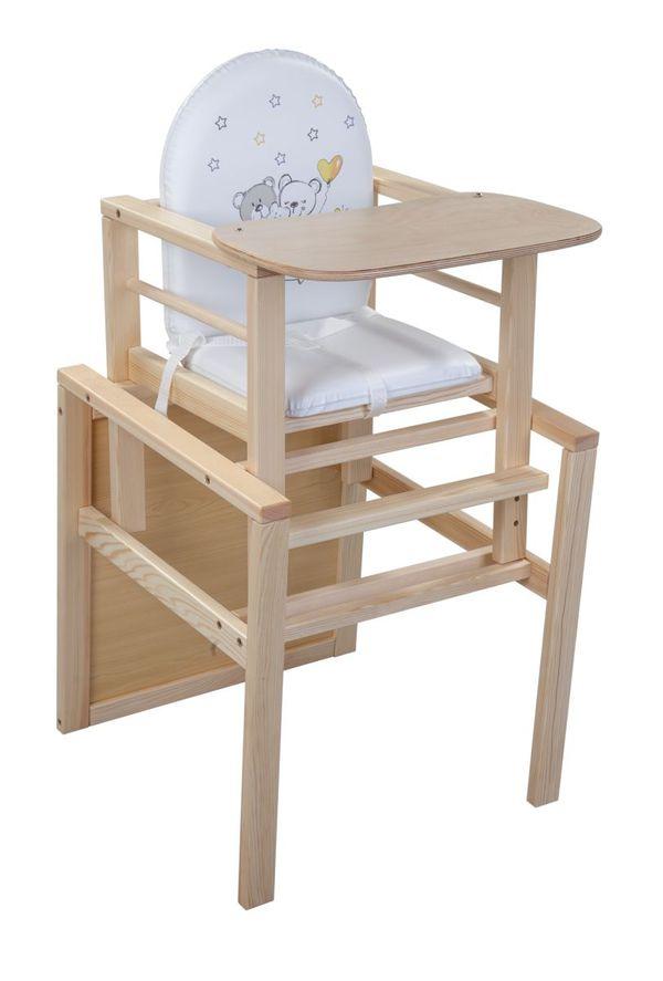 kombihochstuhl b renfamilie natur von rofu f r 39 99 ansehen. Black Bedroom Furniture Sets. Home Design Ideas