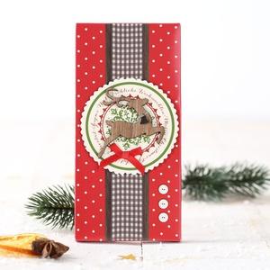 Weihnachtsschokolade - Fröhliche Weihnachten 3,99 € / 100g