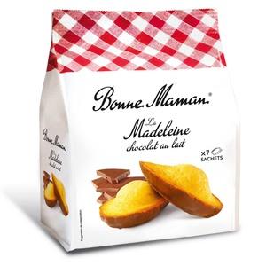 Madeleines chocolat 210g 1,90 € / 100g