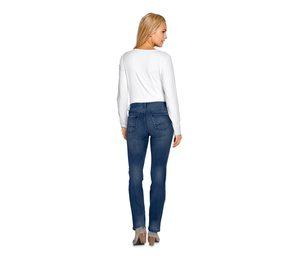 Superstretch-Jeans mit Bio-Baumwolle, blue denim