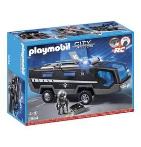 PLAYMOBIL®                City Action                  SEK-Einsatztruck mit Licht und Sound 5564