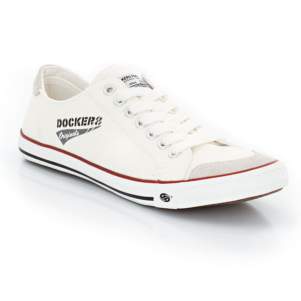 on sale d0a3b b3e2b Dockers® by Gerli Herren Leinen-Sneaker