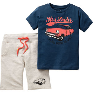 Tom Tailor Jungen T-Shirt + Bermuda