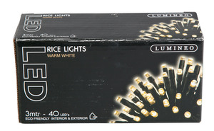 Lichterkette, 40-er LED, 3m