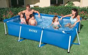 Intex Frame Pool - rechteckig - größe 260x160x65cm