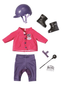 Baby Born - Pony Farm Deluxe Reit Outfit