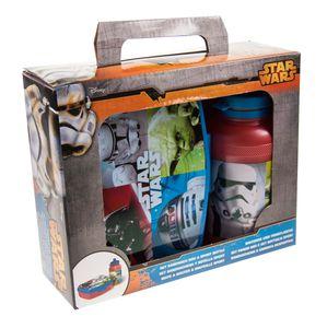 Pausenset - Star Wars - Brotdose und Trinkflasche