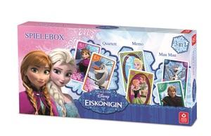 Die Eiskönigin - Spielebox - 3 in 1