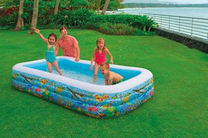 Intex Swim-Center Tropical Reef Family Pool
