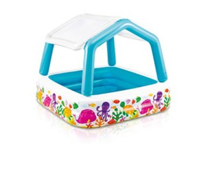 Intex Sun Shade Deluxe Pool