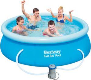 Fast Set Pool Set mit Filterpumpe 244 x 66cm