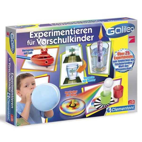 CLEMENTONI   Experimentierkasten Experimentieren für Vorschulkinder