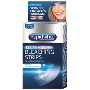 Rapid white Bleaching Strips