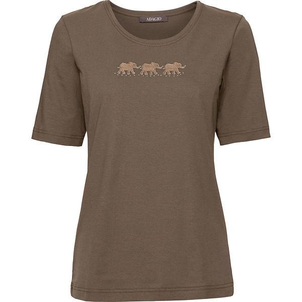 ab818f5797763f Adagio Damen Rundhals T-Shirt Elefanten von Karstadt ansehen ...