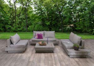 Garden Impressions Polyrattan-Loungegruppe Zwolle, inkl. Schutzhülle