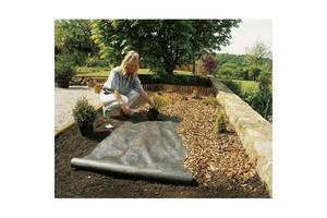 Premium Garden Unkrautvlies 90 g/m² 1 x 25 m, anthrazit
