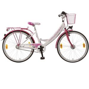 Baxx - 24 Citybike Kira BFF, weiß/rosa