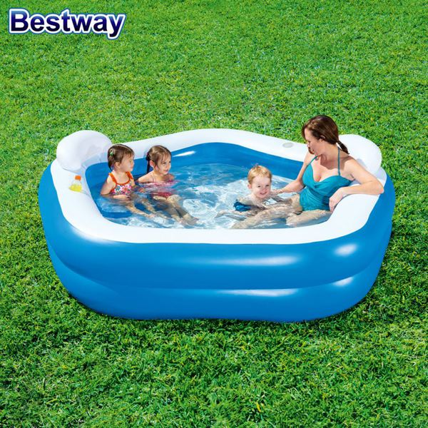 bestway family fun pool 213x207x69cm von thomas philipps. Black Bedroom Furniture Sets. Home Design Ideas