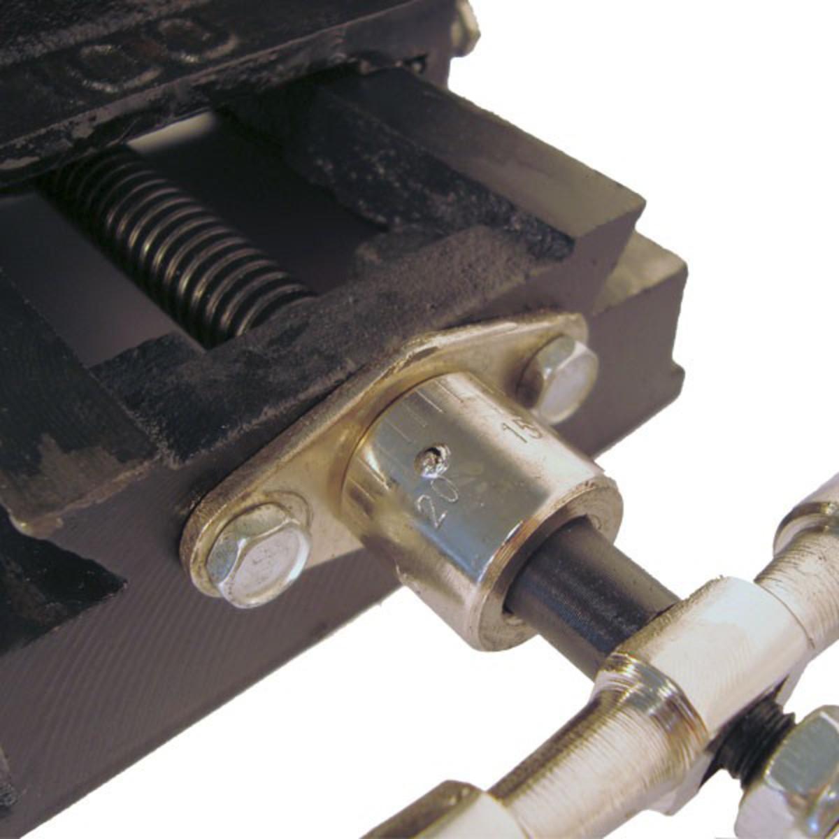 Bild 5 von Mauk Maschinenschraubstock Schraubstock 9 cm